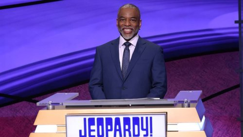 """LeVar Burton Makes 'Jeopardy!' Hosting Debut: """"I'm Proud to Be Here to Honor Alex's Legacy"""""""