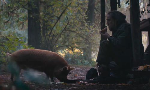 Nicolas Cage Searches for Beloved Stolen Pig in New Trailer