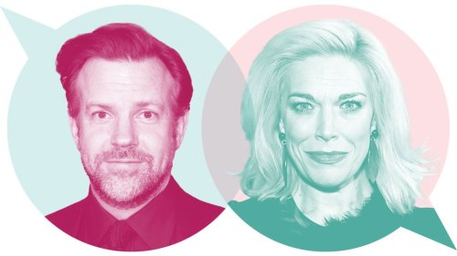 'Ted Lasso' Stars Jason Sudeikis and Hannah Waddingham Talk Onscreen Chemistry and On-The-Fly Edits