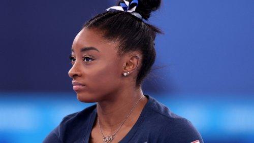 Simone Biles Wins Bronze Medal in Olympics Balance Beam Final