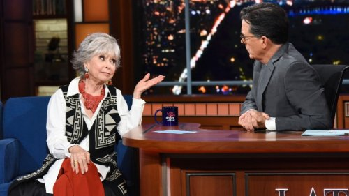 """Rita Moreno Responds to 'In the Heights' Colorism Criticism: """"You Can Never Do Right, It Seems"""""""