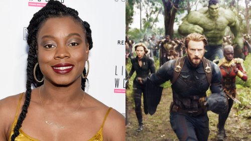 """'The Marvels' Director Nia DaCosta on Why Thanos' Snap Was """"All"""" Captain America's Fault"""