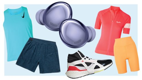 Shopping: Workout Gear That's Stylish and Sustainable From Sneakers to Earbuds