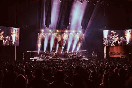 Bon Iver Plays Back-to-Back Shows at YouTube Theater, Brad Pitt and Billie Eilish Attend