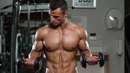 Bíceps en casa