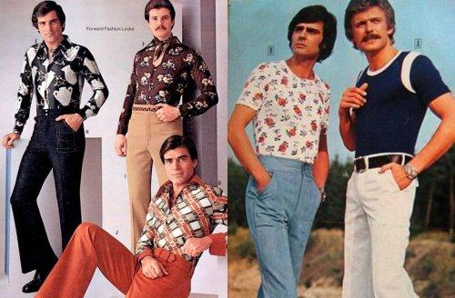La moda en lo años 70' en hombres - Curiosidades en Hombres con Estilo