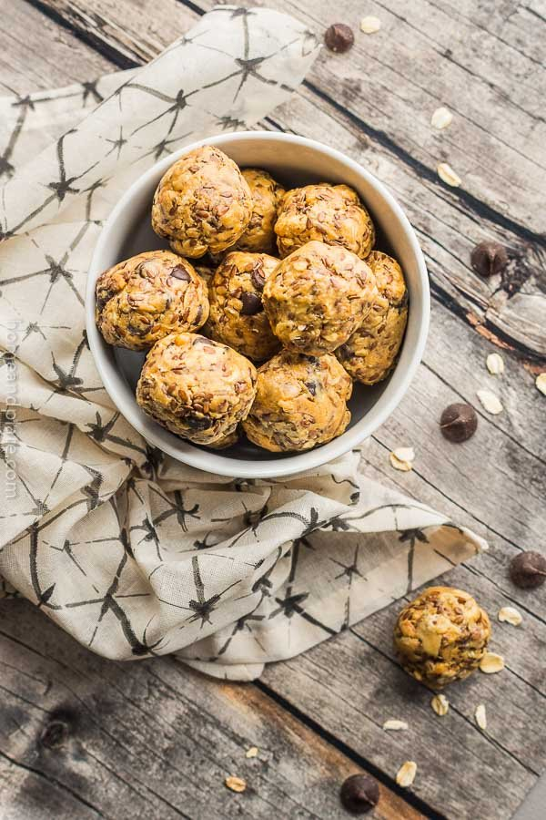 No Bake Energy Bites Recipe (Healthy) - Home and Plate