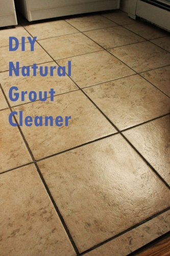 DIY Grout Cleaner - How To Clean Tiles With Natural Ingredients