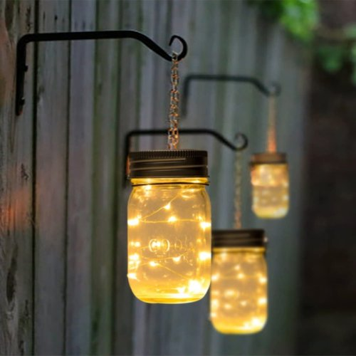 Giving Character To An Outdoor Space With Hanging Solar Lights