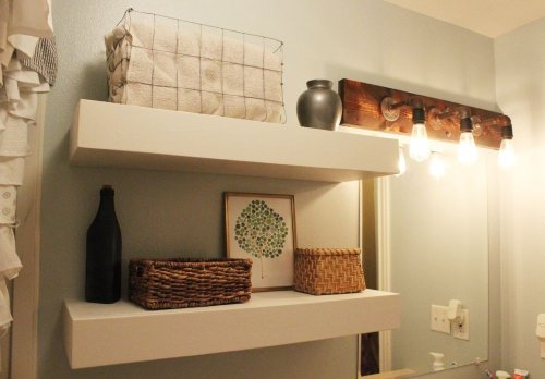 How To Install Floating Shelves That You Built