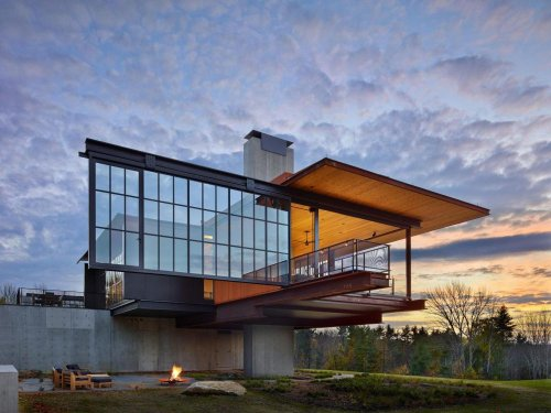 Amazing Houses With Moving Walls, Kinetic Systems And Dynamic Facades