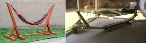 DIY Hammock Stands That Would Look Perfect In Your Backyard
