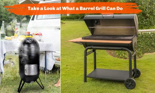 Setting Up Your Backyard Dream BBQ Area With A Barrel Grill