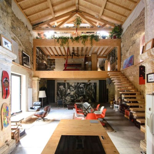 A Small 16th Century Church From Spain Turned Into A Home