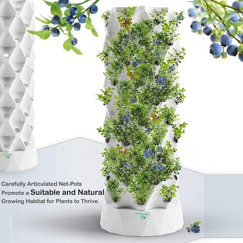 Save Space and Grow Everything with a Tower Garden