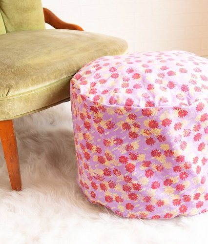 How to Make a DIY Floor Pouf