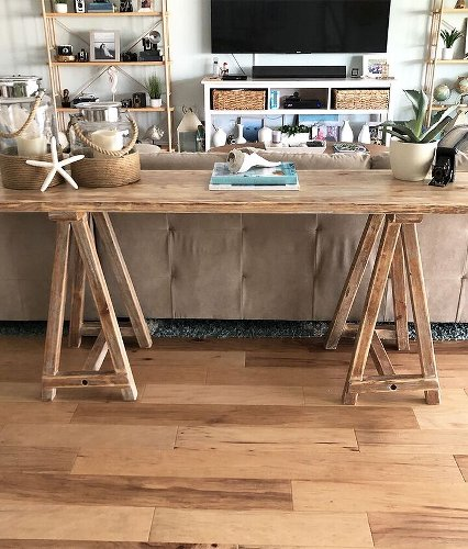 Trash to Treasure, Pottery Barn Dupe - Console Table