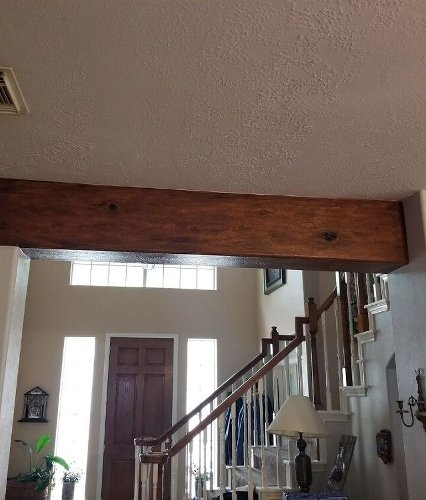 How to Fake a Wooden Beam