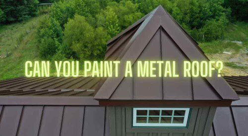Can You Paint A Metal Roof | A Complete Guide | Homvela.com
