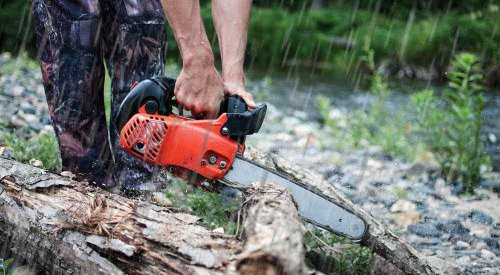 Can You Use A Chainsaw In The Rain | Wet Wood Cutting Guide