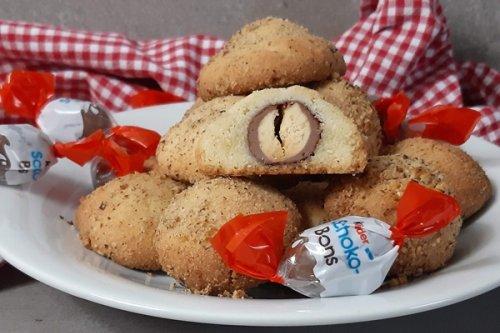 Kinder Schokobons im Plätzchenteig - Backen mit Schokobons zu Ostern