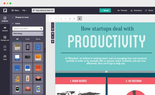 30 Tools to Create Your Own Infographics