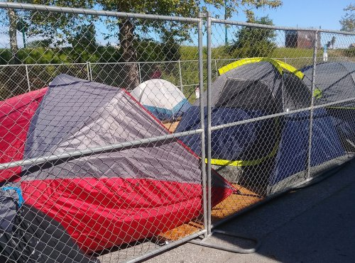Santa Cruz begins to break up homeless camps as city debates where to relocate the unhoused