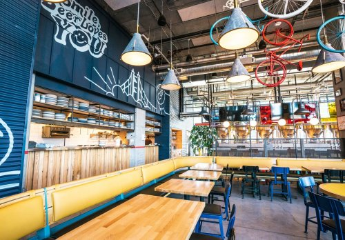 New Belgium Brewing opens first company flagship restaurant and taproom in Mission Bay