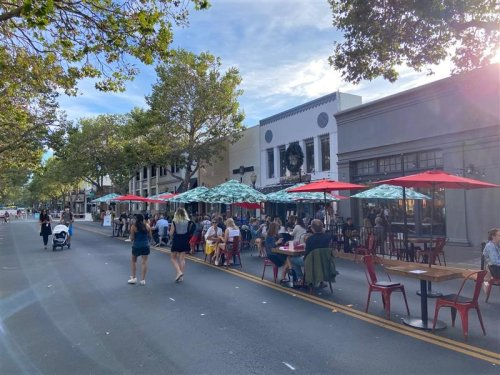 Busy Palo Alto street will finally reopen, two others staying closed, despite objections
