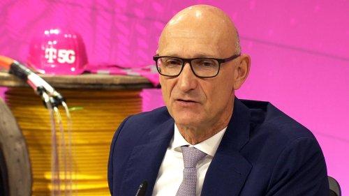 Telekom-Chef: Timotheus Höttges fordert vereintes Europa im Wettbewerb mit China und USA