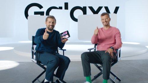 """Florida Reklame & Cheil: Joko und Klaas machen jetzt """"sehr gute Werbespots"""" für Samsung-Klapphandys"""