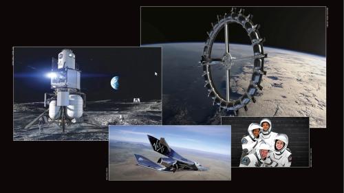 Weltraumtourismus: Wie Blue Origin, Space X und Virgin Galactic ein neues Geschäftsmodell erfinden