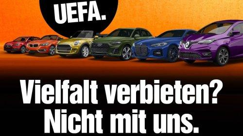 """Sorry, UEFA"": So positioniert sich Sixt in der Regenbogen-Debatte"