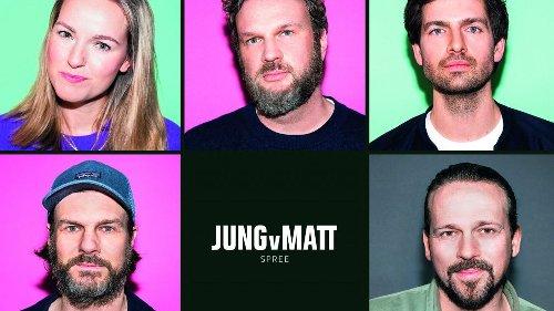 Jung von Matt/Spree: Spieß, Lisson und Höltke rücken in die Geschäftsleitung auf