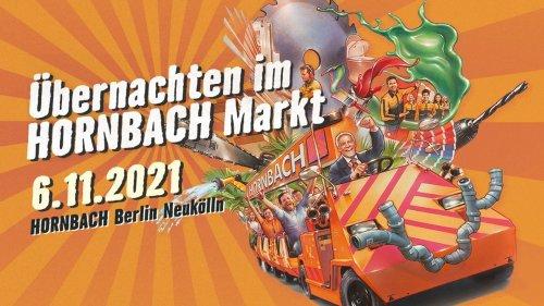 Influencer-Kampagne: Hornbach bietet Übernachtungen im Baumarkt an