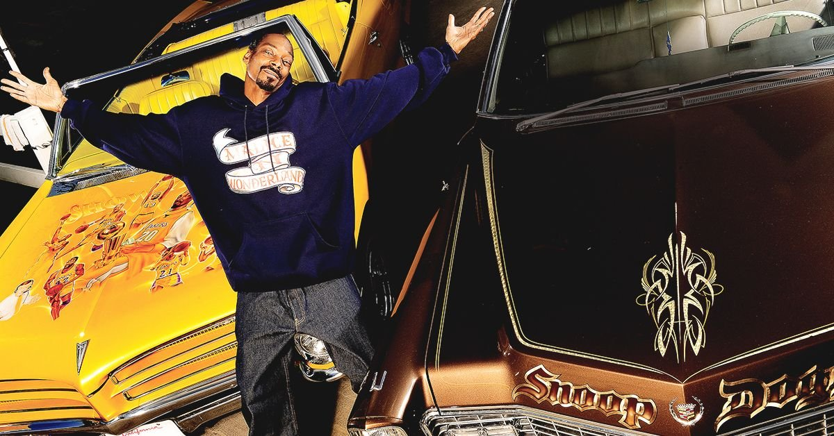 13 Cars Snoop Dogg Customized To Perfection (And 6 Will.I.Am Did Weird Things To)