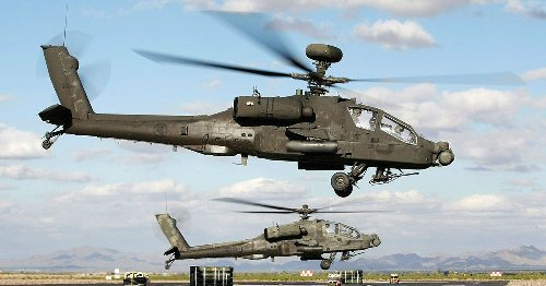 This Is Why We Love The Apache Helicopters