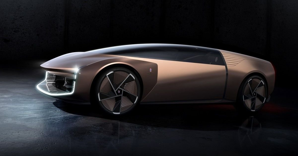 The Teorema Is Pininfarina's First Virtual Concept Car