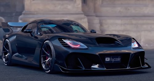 Dodge Viper Widebody Bodykit Is One Extreme Way To Get Attention