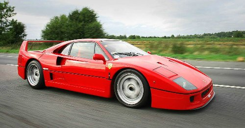 Everone Forgot These Facts About The Ferrari F40