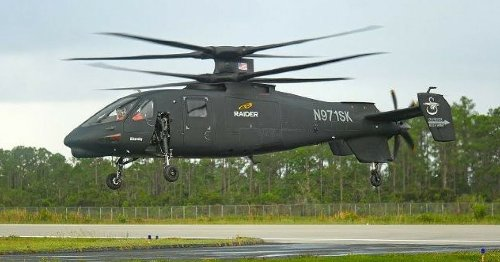 The S-97 Raider Military Helicopter Approaches 300MPH