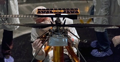 """The Tech Behind NASA's Mars Helicopter """"Ingenuity"""""""