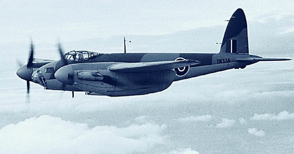 Wooden Wonder Plane: Here's What Made The DeHavilland Mosquito Special