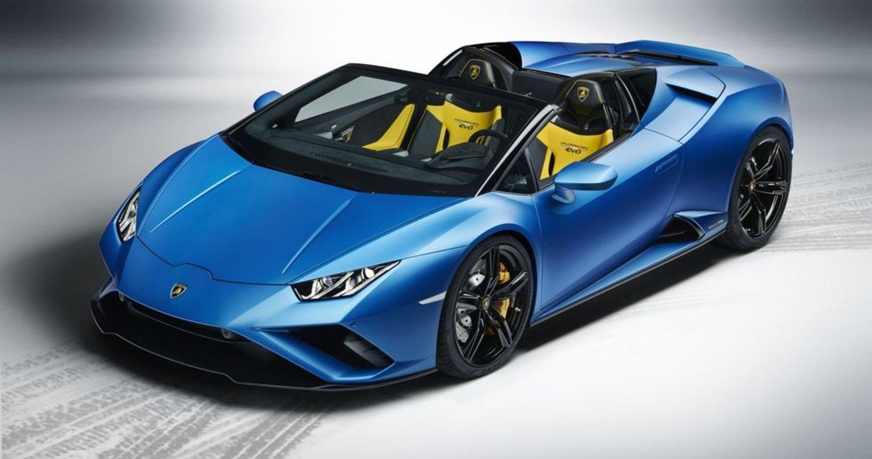 Lamborghini's RWD Evo Spyder Is A Supercar Purist's Dream