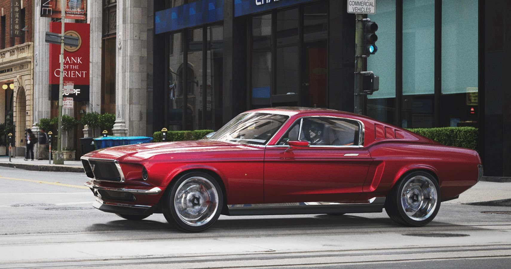 Meet The Aviar R67, A Tesla Model S With Old School Mustang Looks