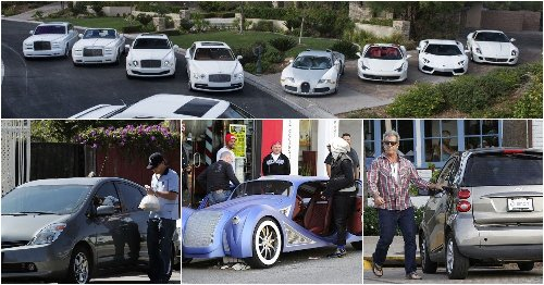 10 Celebrities Who Have The Worst Car Collections (5 That Are Unreal)