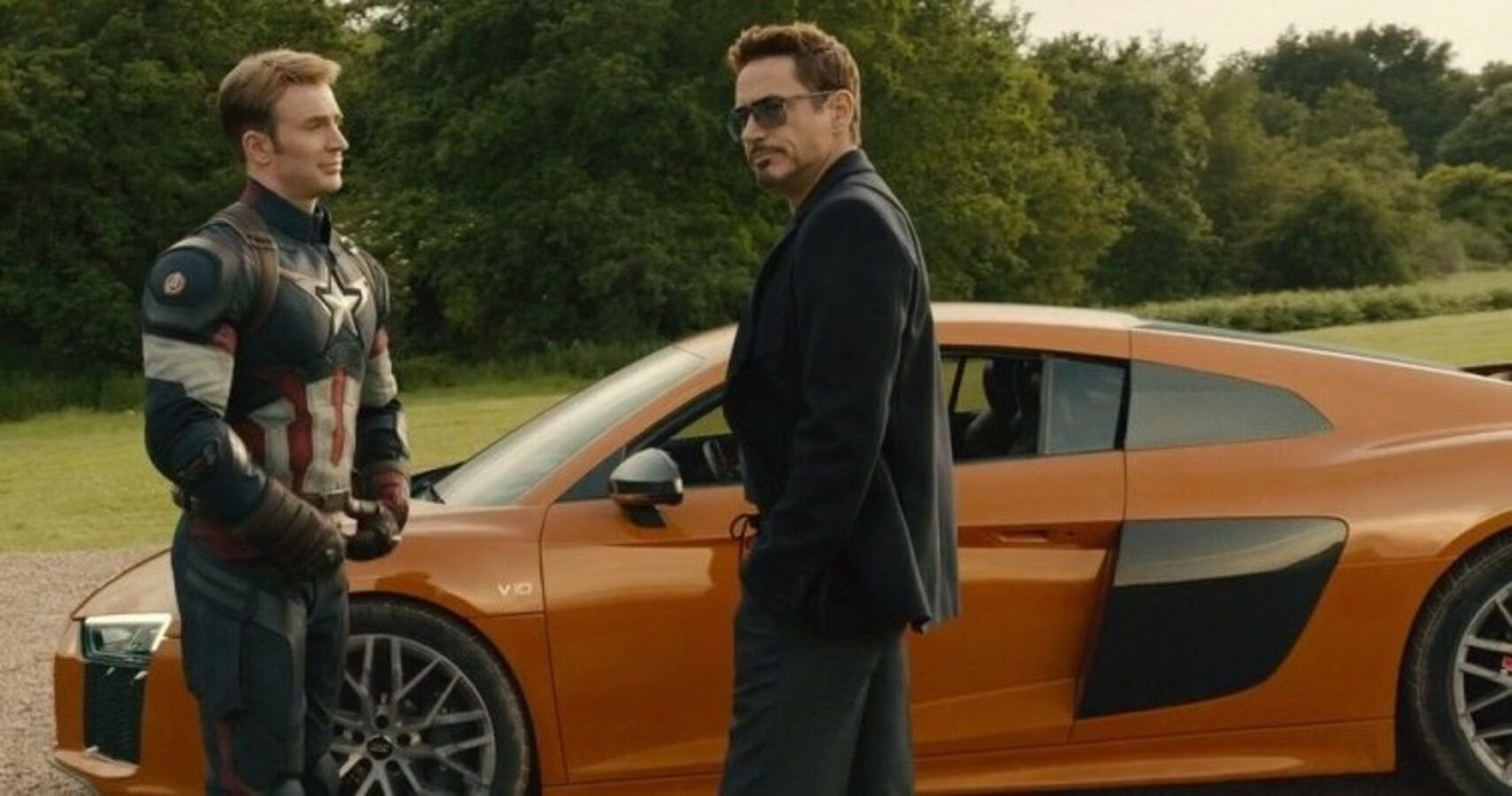 Here's Where Robert Downey Jr.'s Audi R8 From Iron Man Is Today
