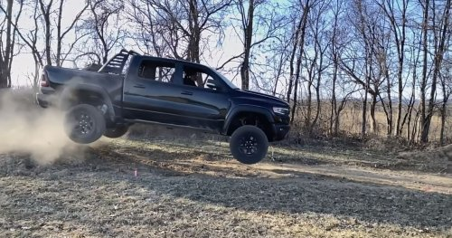 Ram TRX-Flying YouTuber Charged With 18 Criminal Counts For Jumping Over Creek