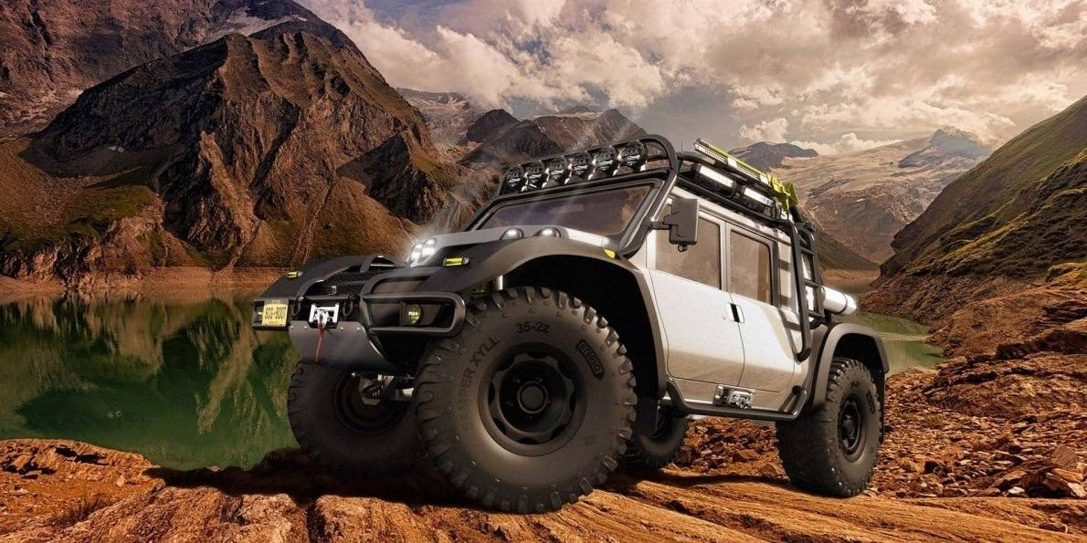 The Weirdest American SUV Ever? What You Need To Know About The SCG Boot