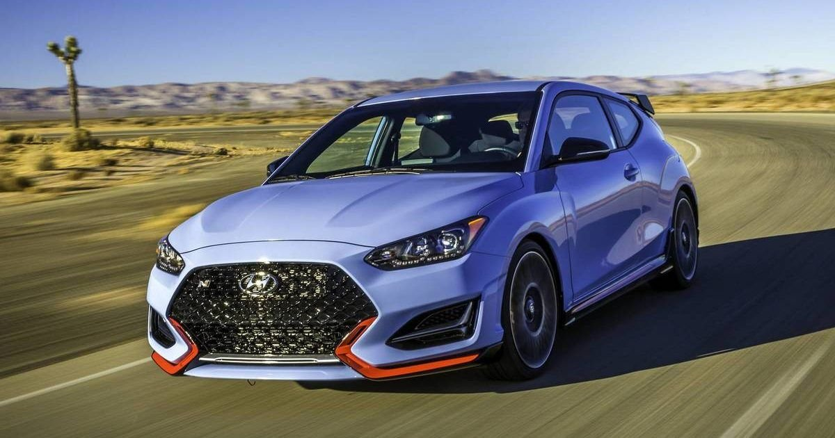 Here's Why The Hyundai Veloster N Is The Best Hatchback Money Can Buy
